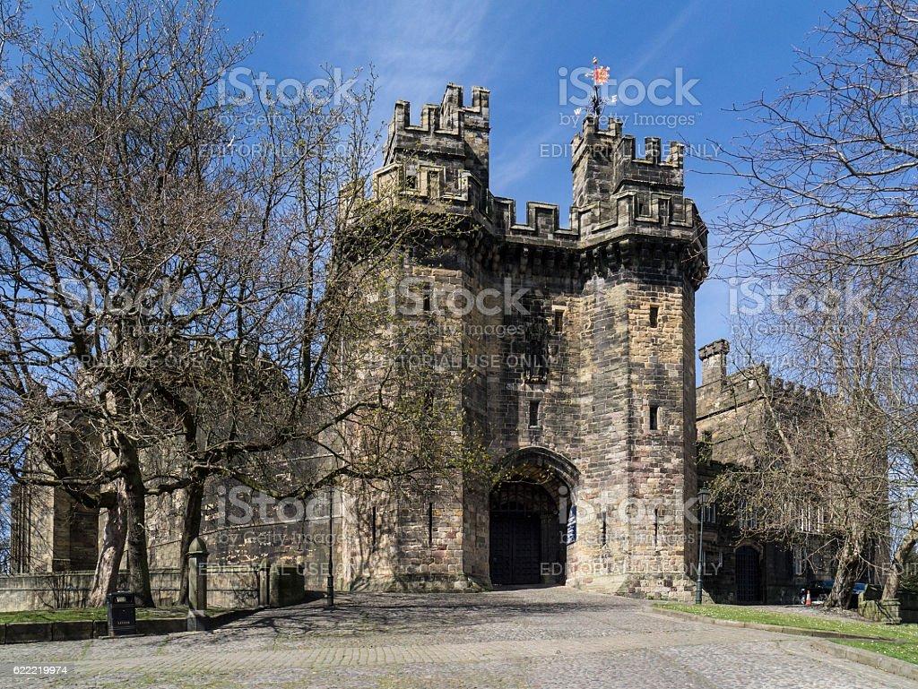 Lancaster Castle - Lancaster - England stock photo