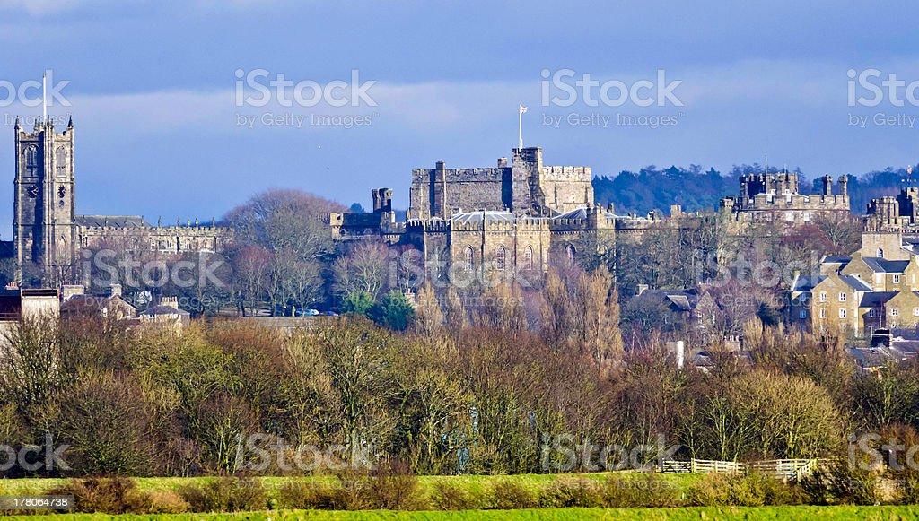 Lancaster Cityscape UK stock photo