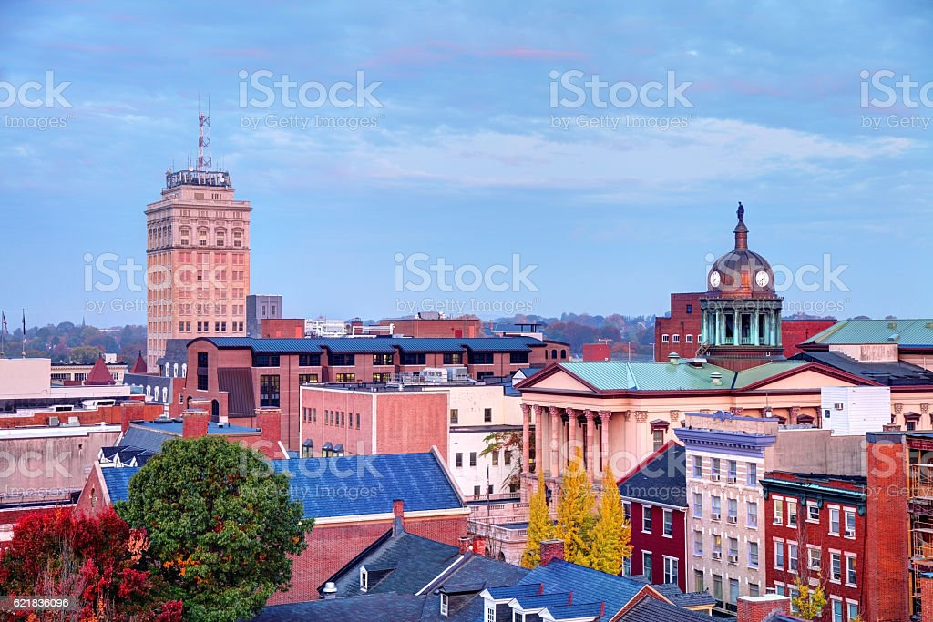 Lancaster, Pennsylvania stock photo