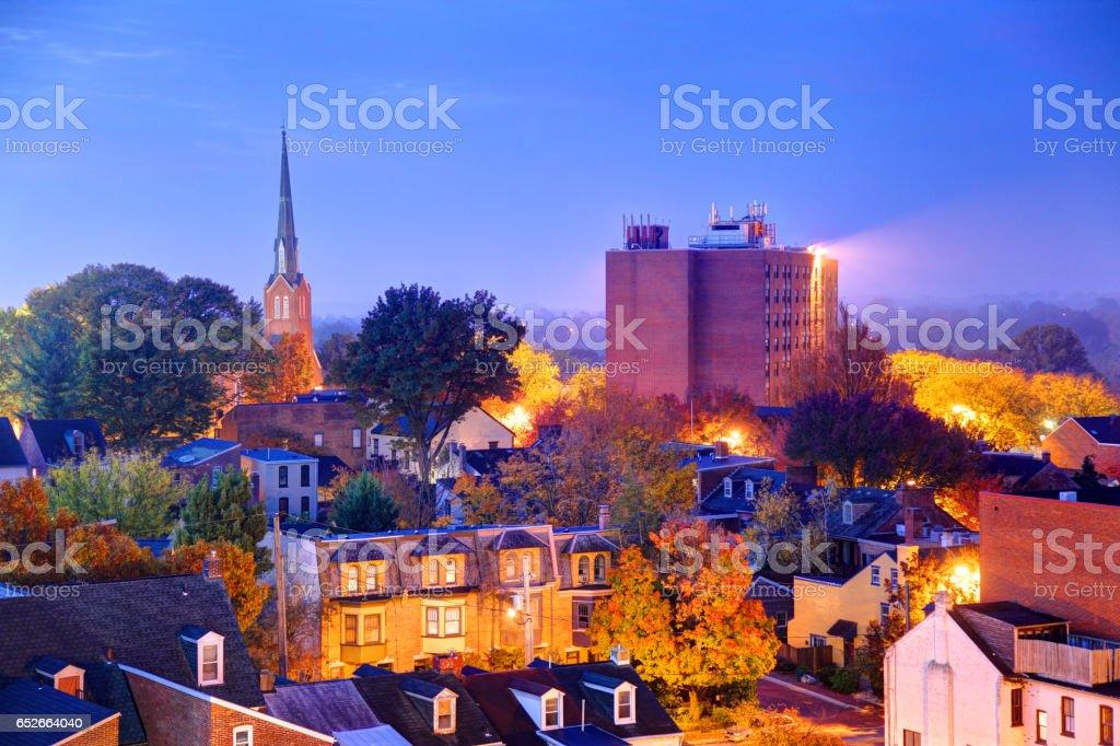 Lancaster, Pennsylvania stock photo
