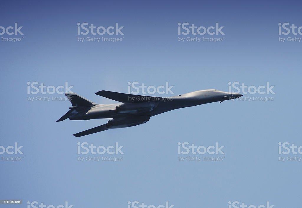 B-1B Lancer royalty-free stock photo