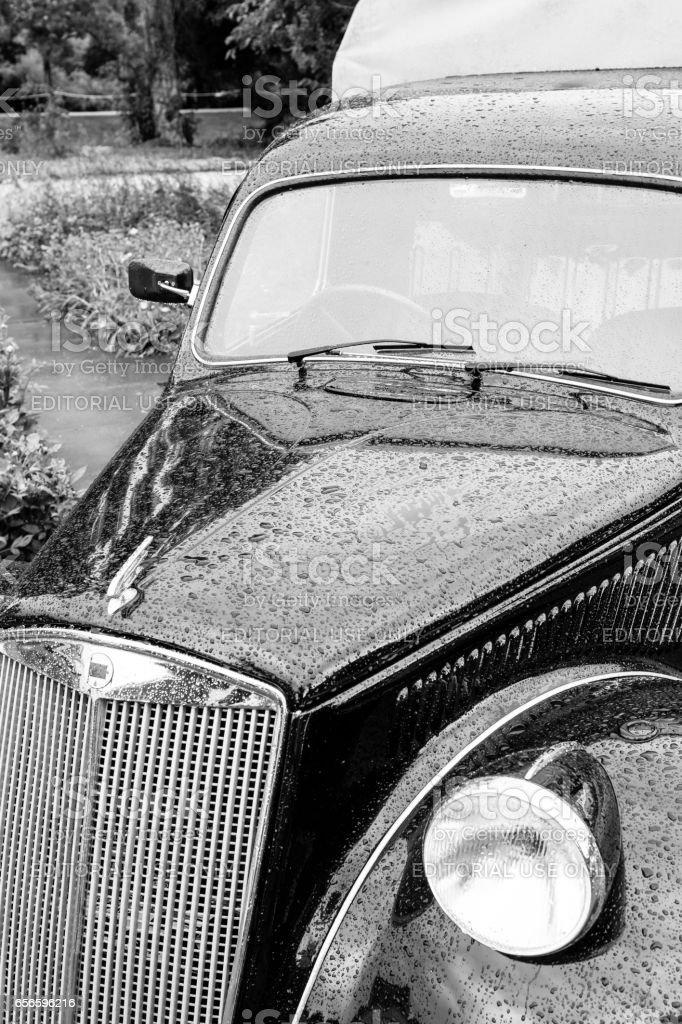 Lancia Ardea Camioncino classic 1940s Italian pick up stock photo