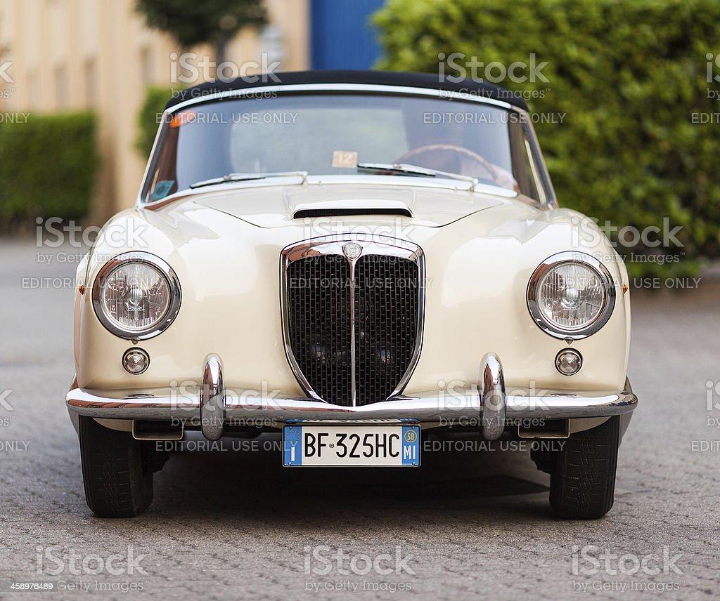 1957 Lancia Aurelia B24 Convertible stock photo
