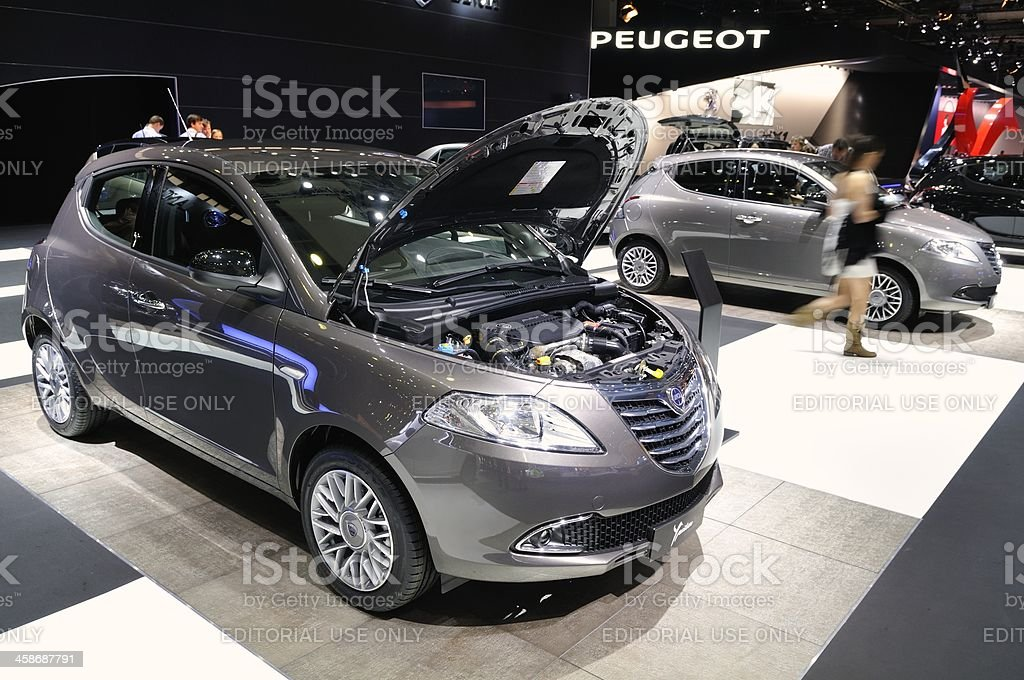 Lancia New Ypsilon royalty-free stock photo