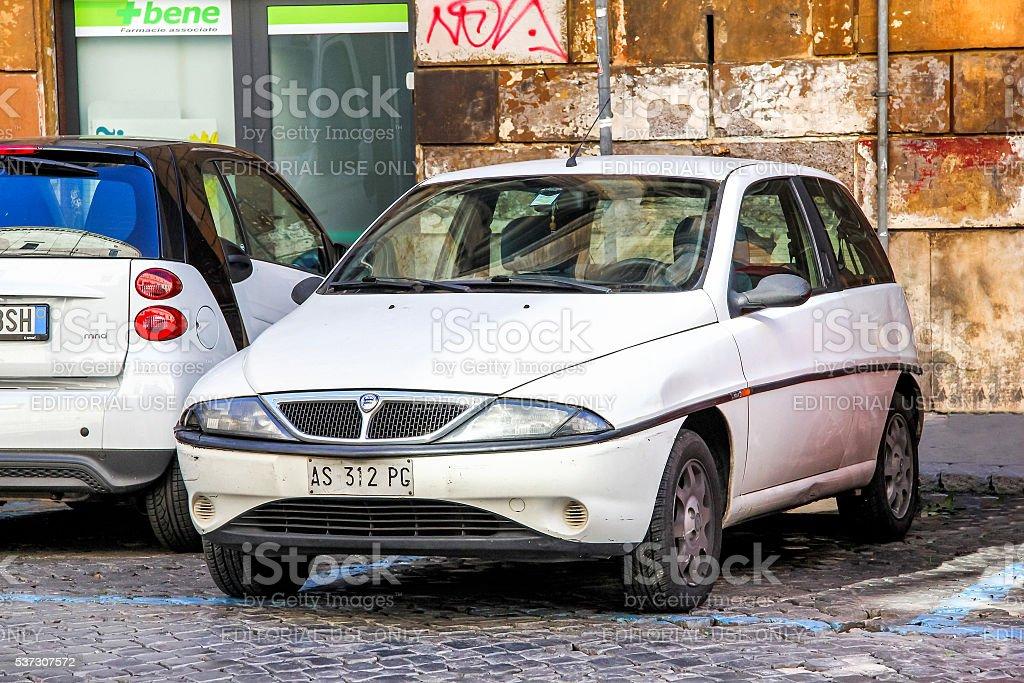 Lancia Y stock photo