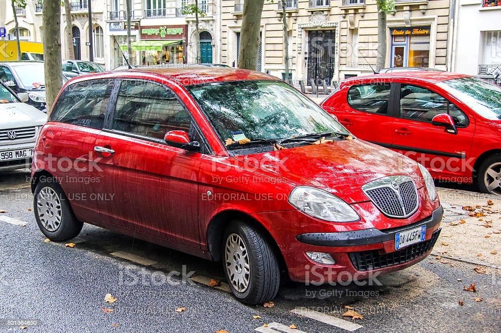 Lancia Ypsilon stock photo