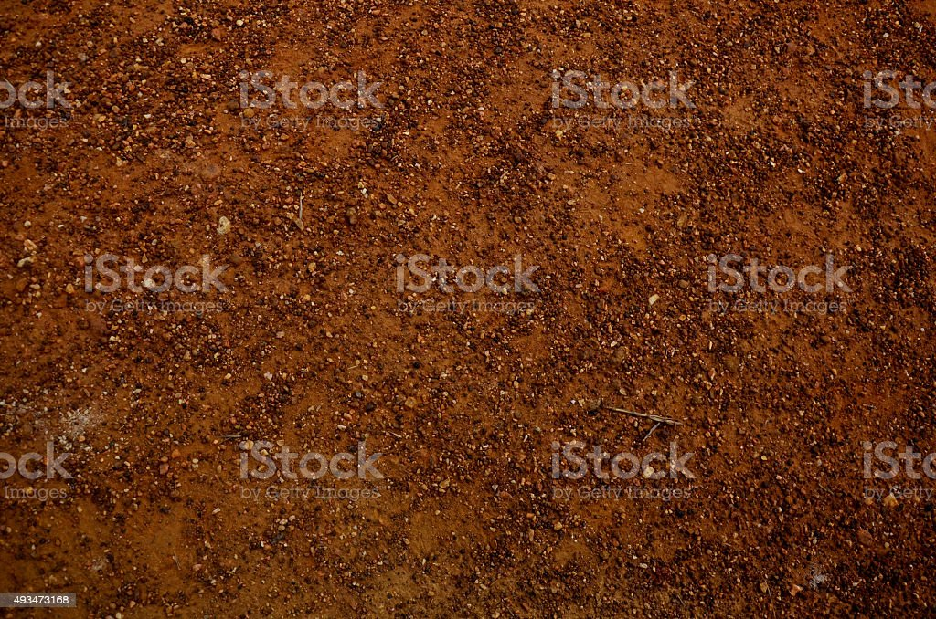 Land and pebble background stock photo