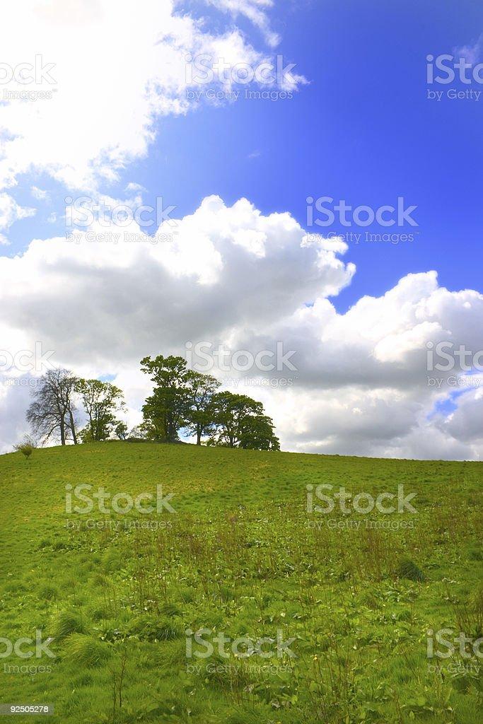 Terre et le ciel 2 photo libre de droits