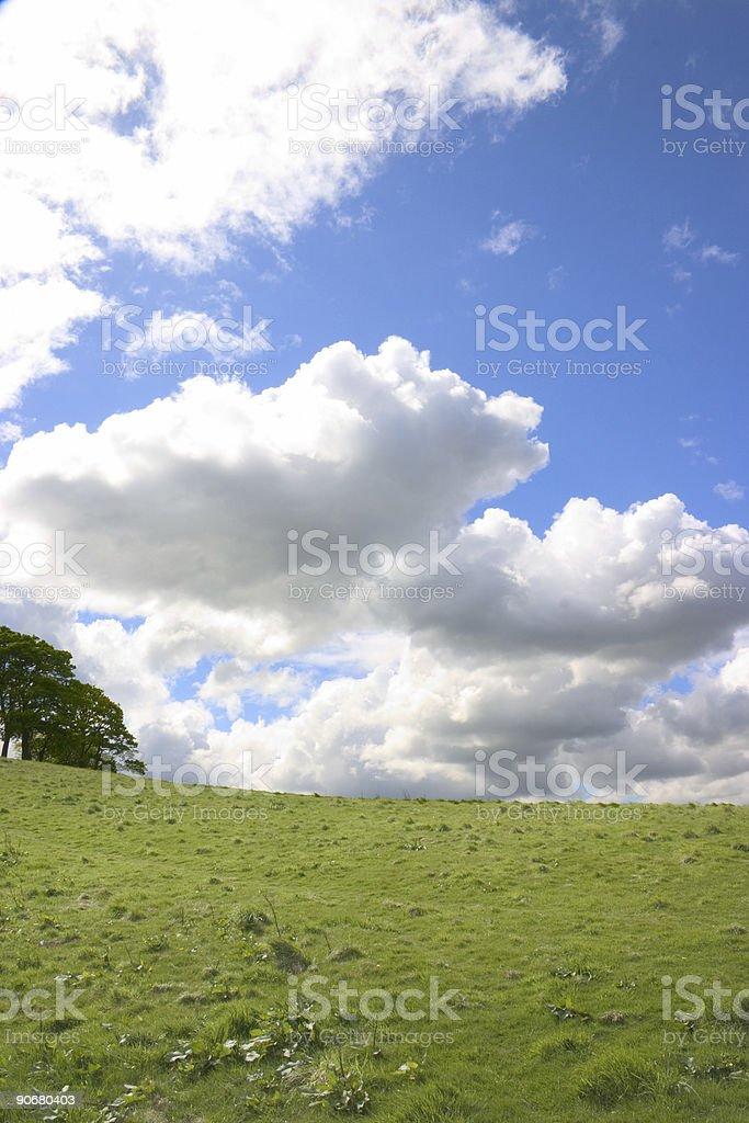 Terre et ciel 1 photo libre de droits