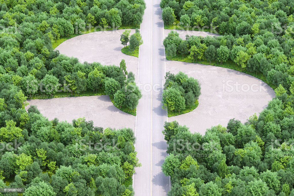 Land Development And Growth stock photo