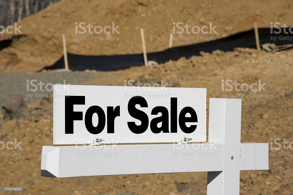Land For Sale 2 royalty-free stock photo