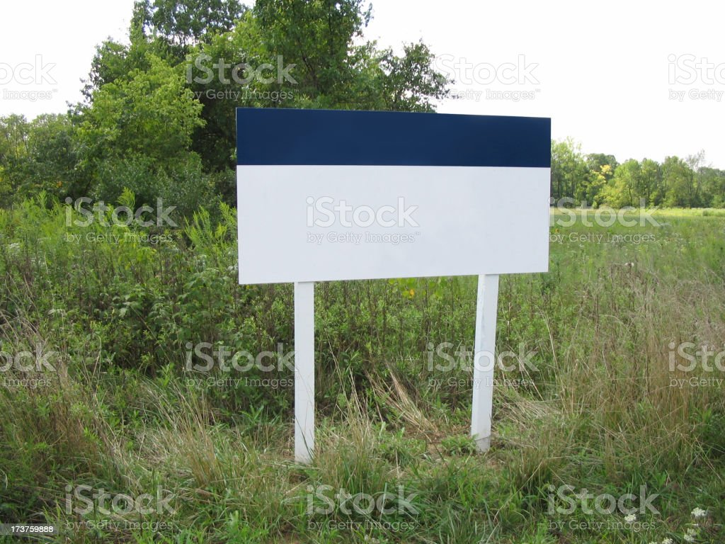 land for sale royalty-free stock photo