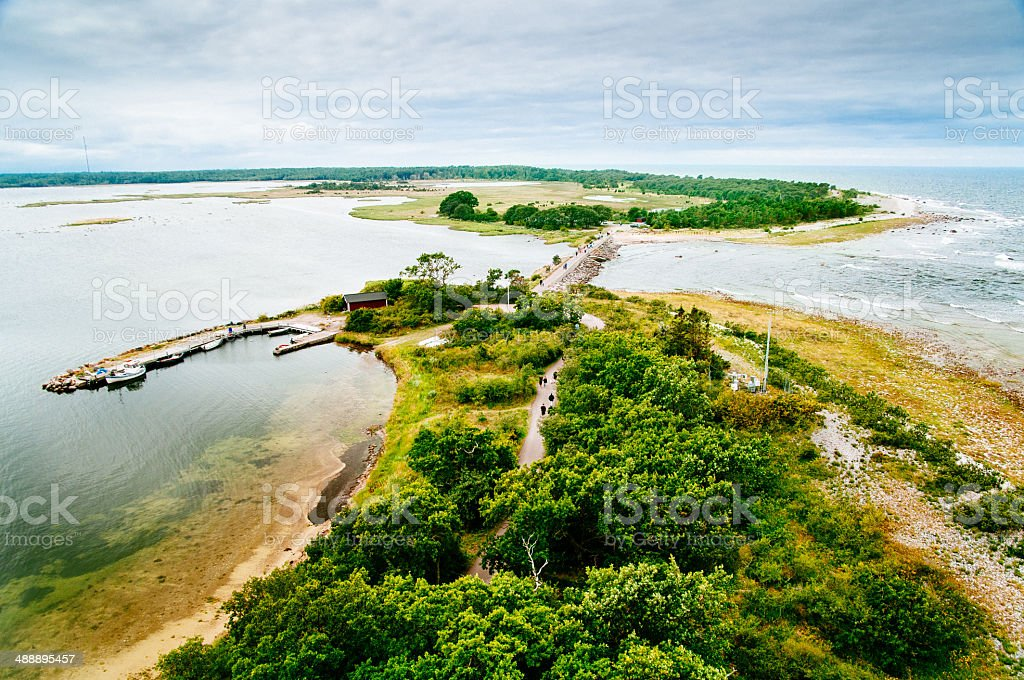 Öland Island Sweden stock photo