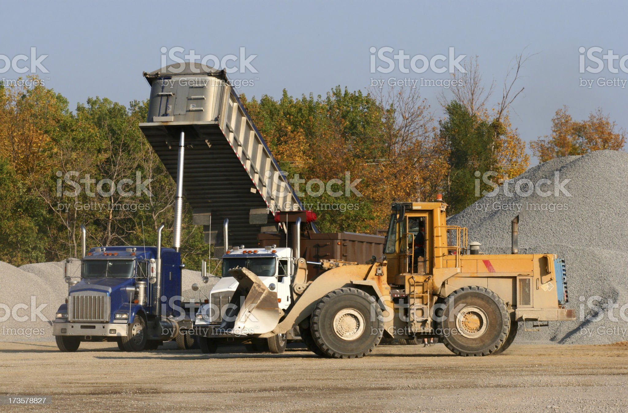 Land Moving Equipments royalty-free stock photo