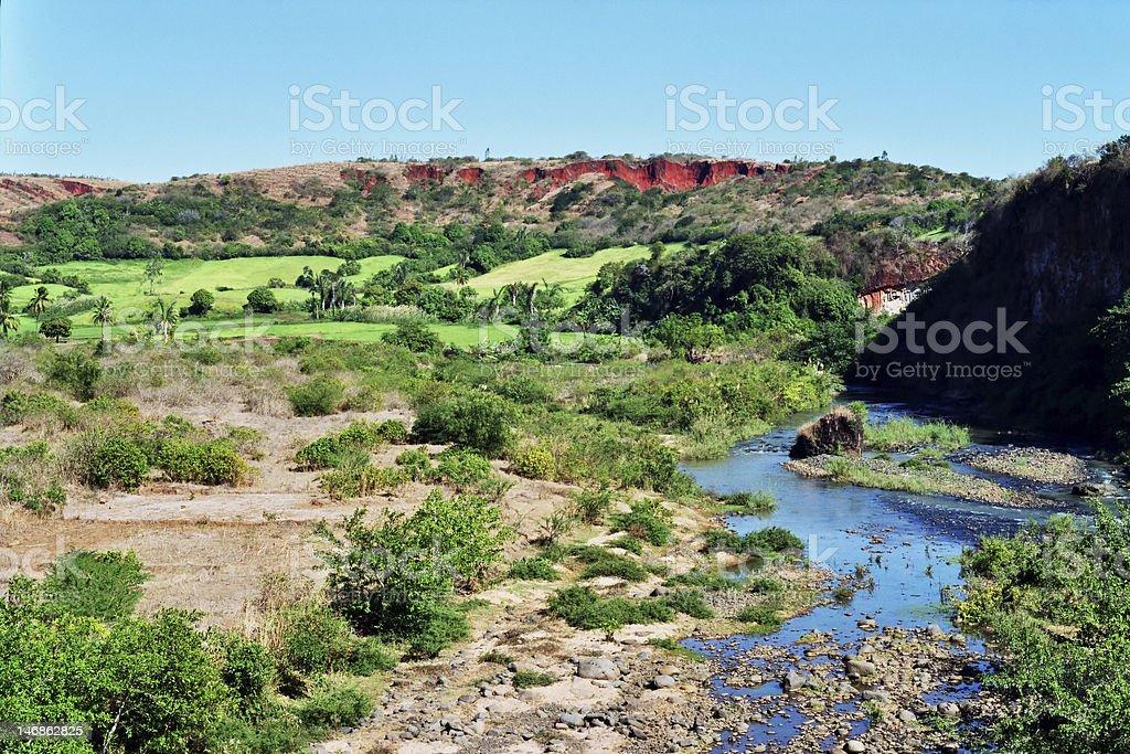 Land, North Madagascar royalty-free stock photo