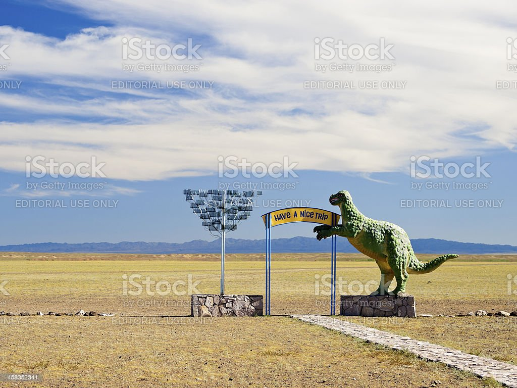 Land of dinosaurs royalty-free stock photo