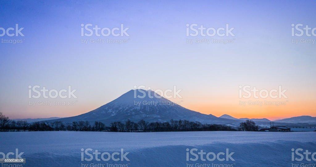 Land of the Rising Sun stock photo