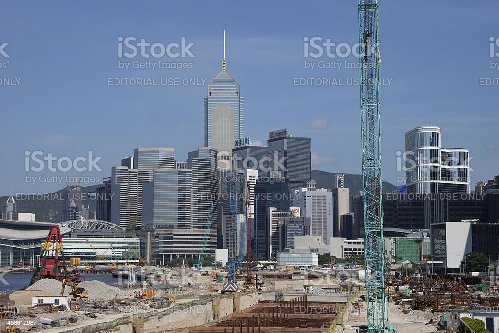 Land Reclamation royalty-free stock photo