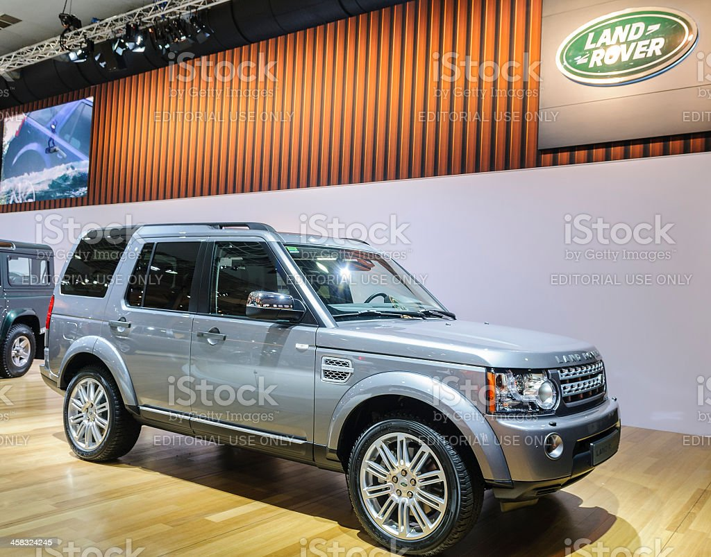 Land Rover Discovery royalty-free stock photo
