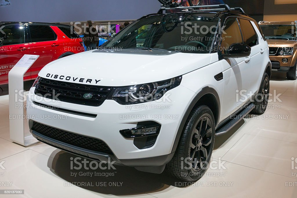 Land Rover Discovery Sport SUV stock photo