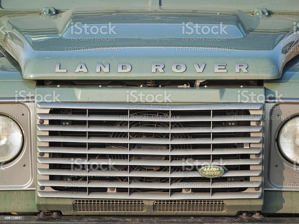 Land Rover stock photo