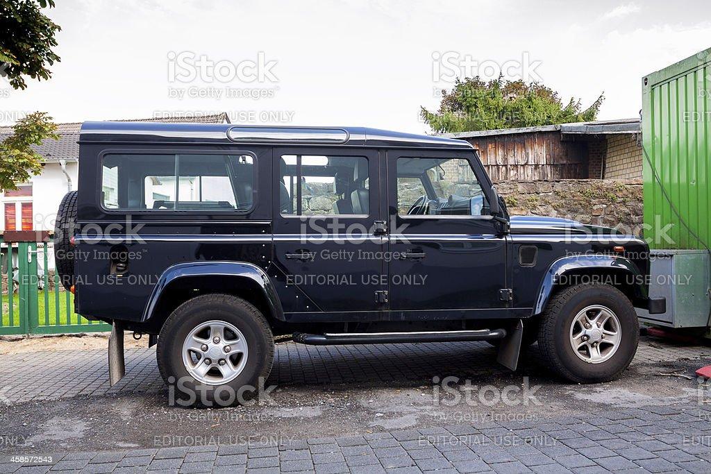 Land Rover royalty-free stock photo