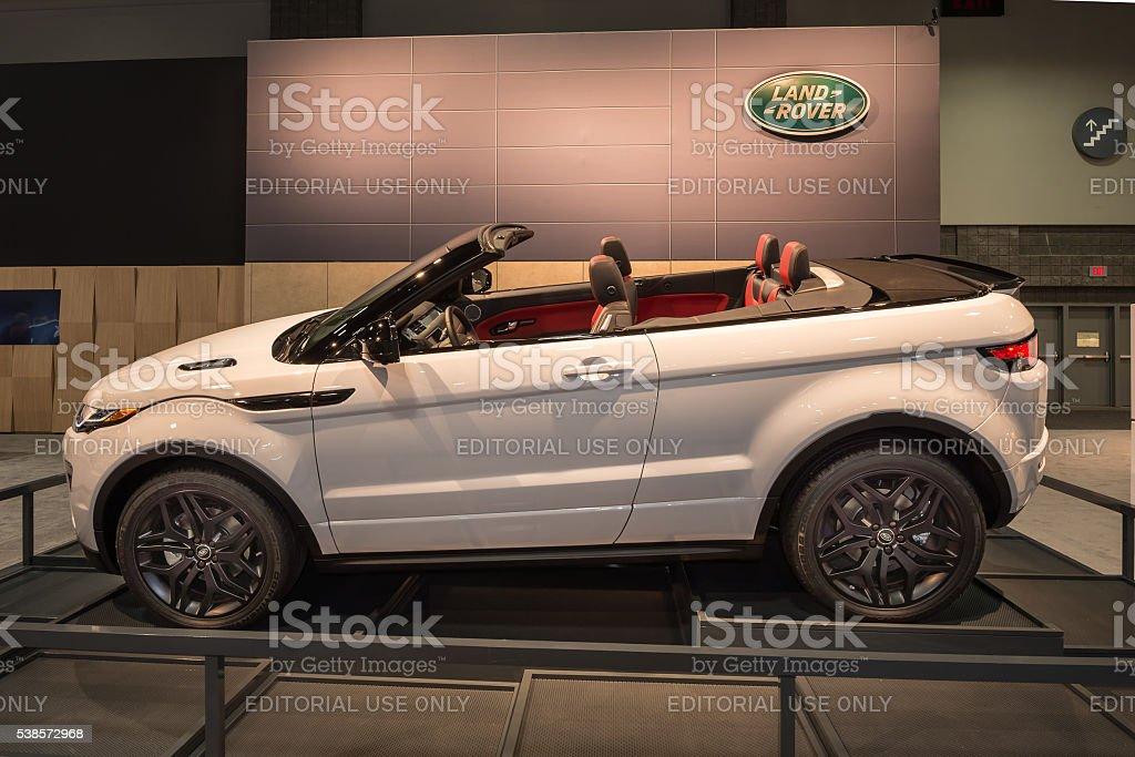 Land Rover Range Rover Evoque stock photo