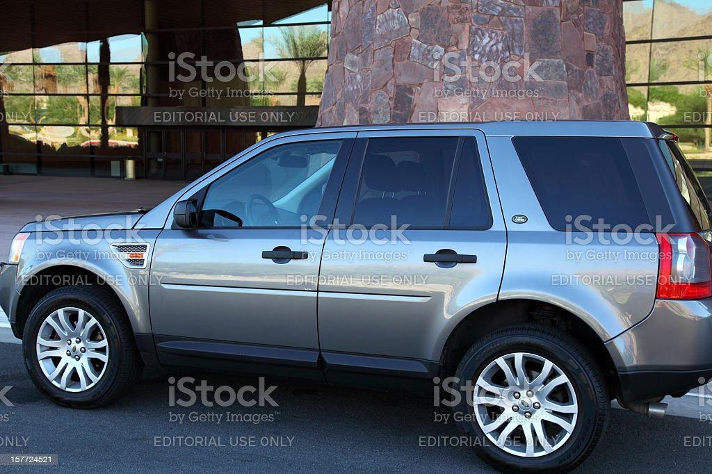 LR 2 Land Rover SUV royalty-free stock photo