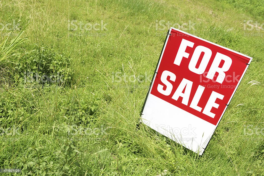 Land Sale royalty-free stock photo