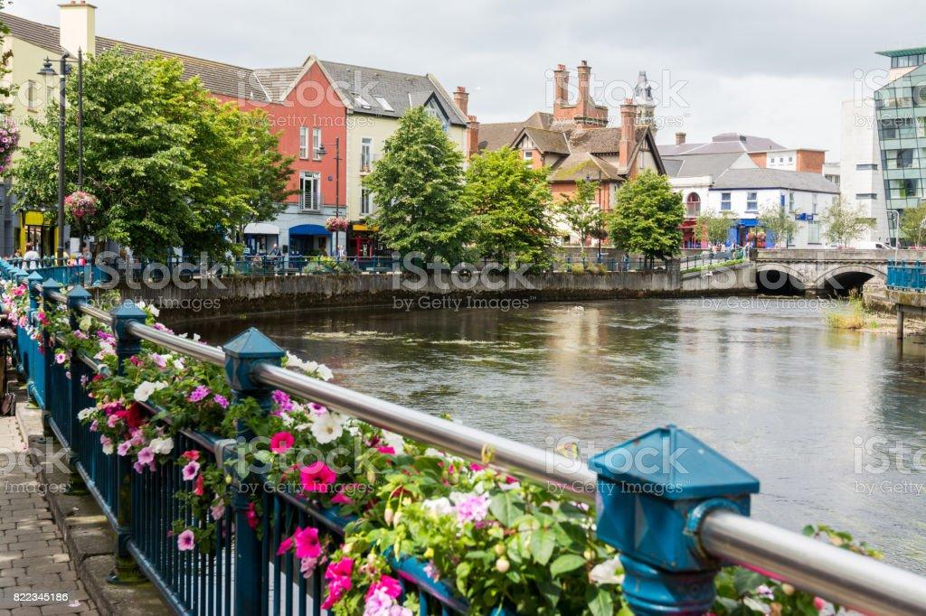 Landascapes of Ireland. Sligo city stock photo