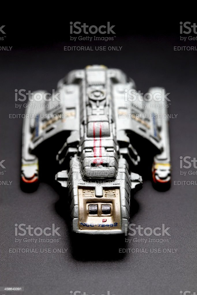 Landed royalty-free stock photo