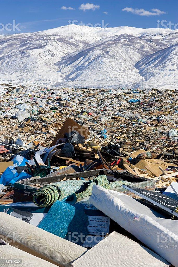 Landfill Series stock photo