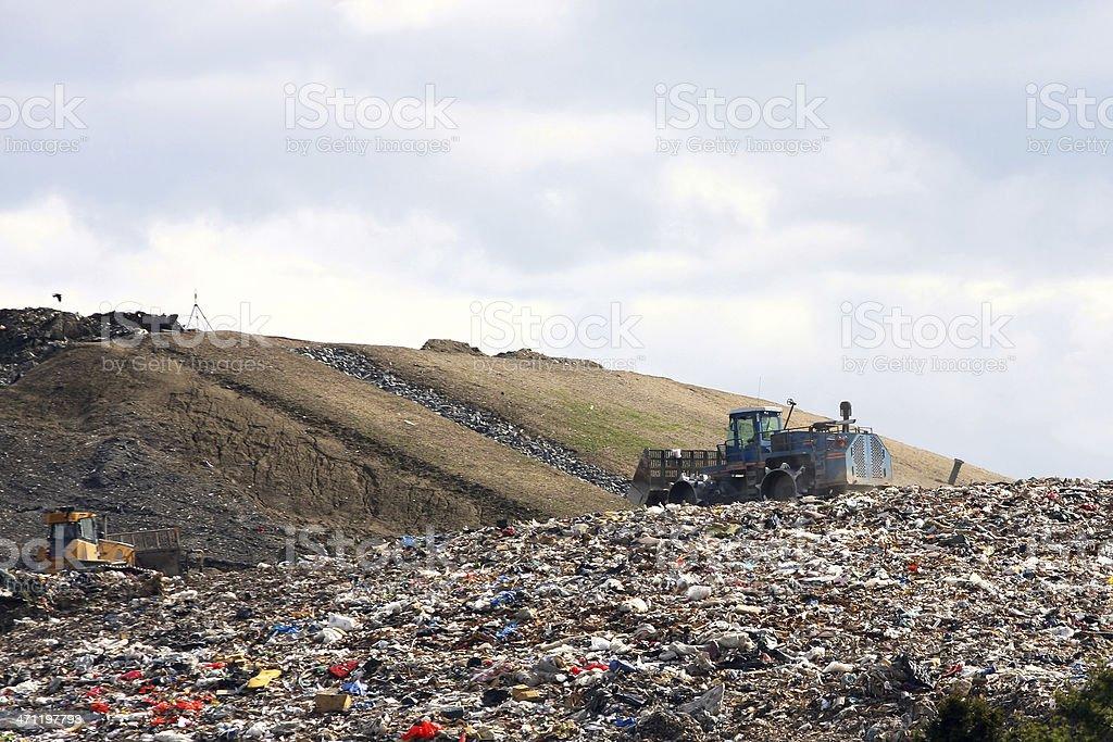 Landfill Site royalty-free stock photo