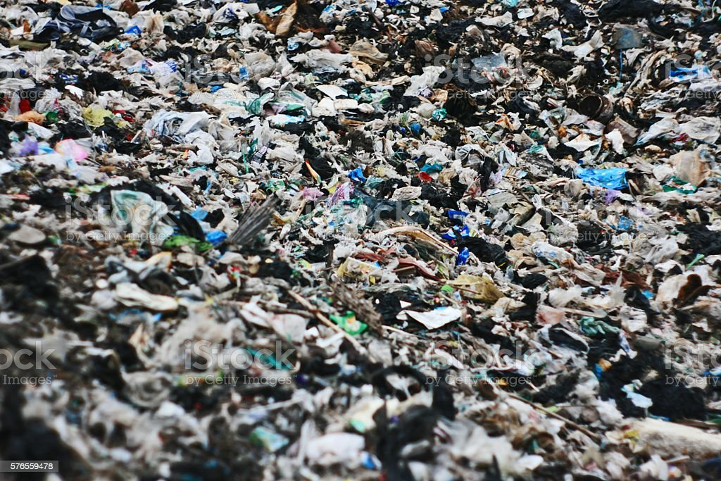 Landfills stock photo