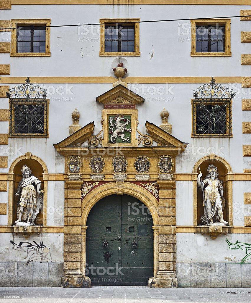 Landhaus facade, Graz, Styria, Austria royalty-free stock photo