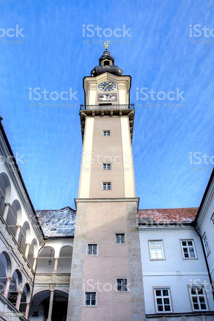 Landhaus Tower. Linz, Austria stock photo