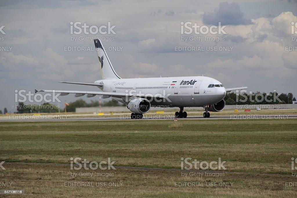 Landing A300 royalty-free stock photo