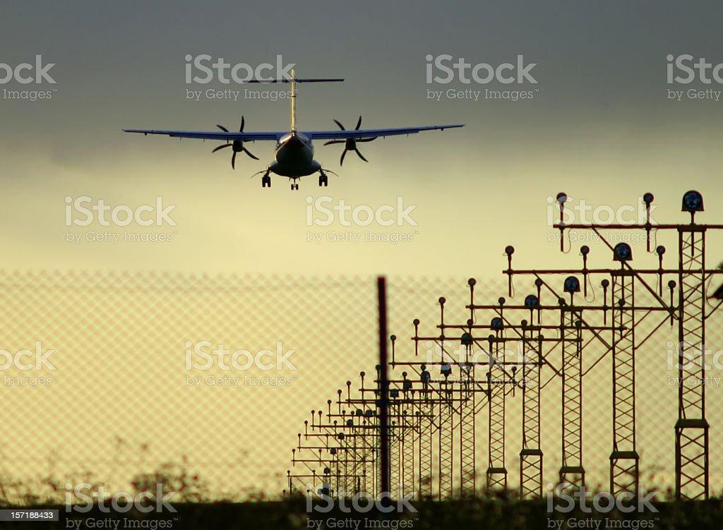 landing royalty-free stock photo