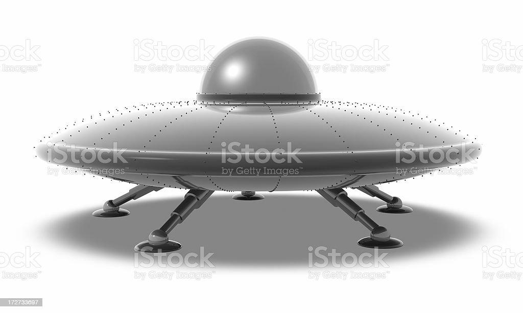 UFO の踊り場 ロイヤリティフリーストックフォト