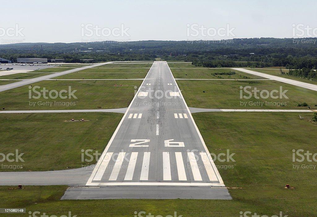 Landing Time stock photo