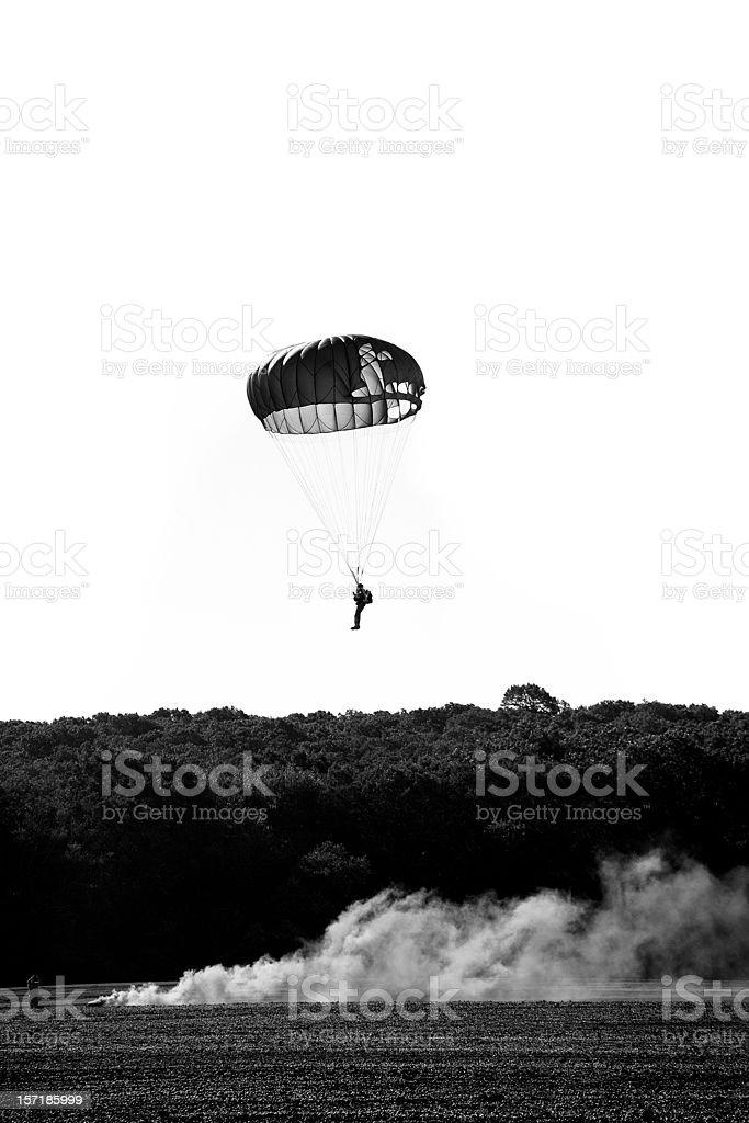 Landing zone stock photo