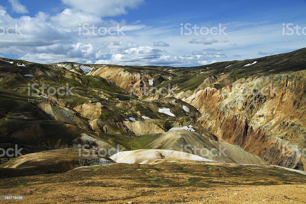 Landmannalaugar mountains, Iceland royalty-free stock photo