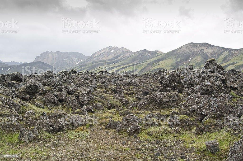 Landmannalaugar (Iceland) royalty-free stock photo