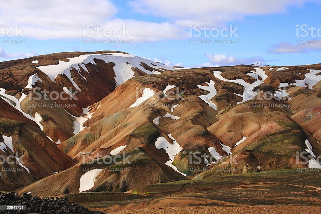 Landmannalaugar royalty-free stock photo