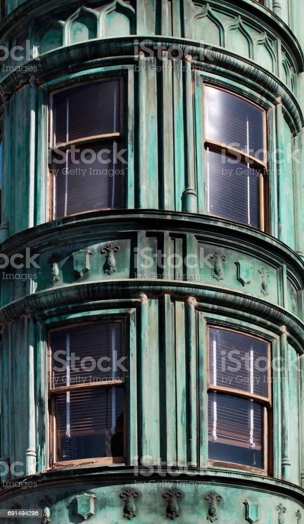 Landmark for San Francisco Building stock photo