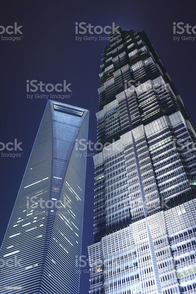 Landmark in Shanghai, China royalty-free stock photo