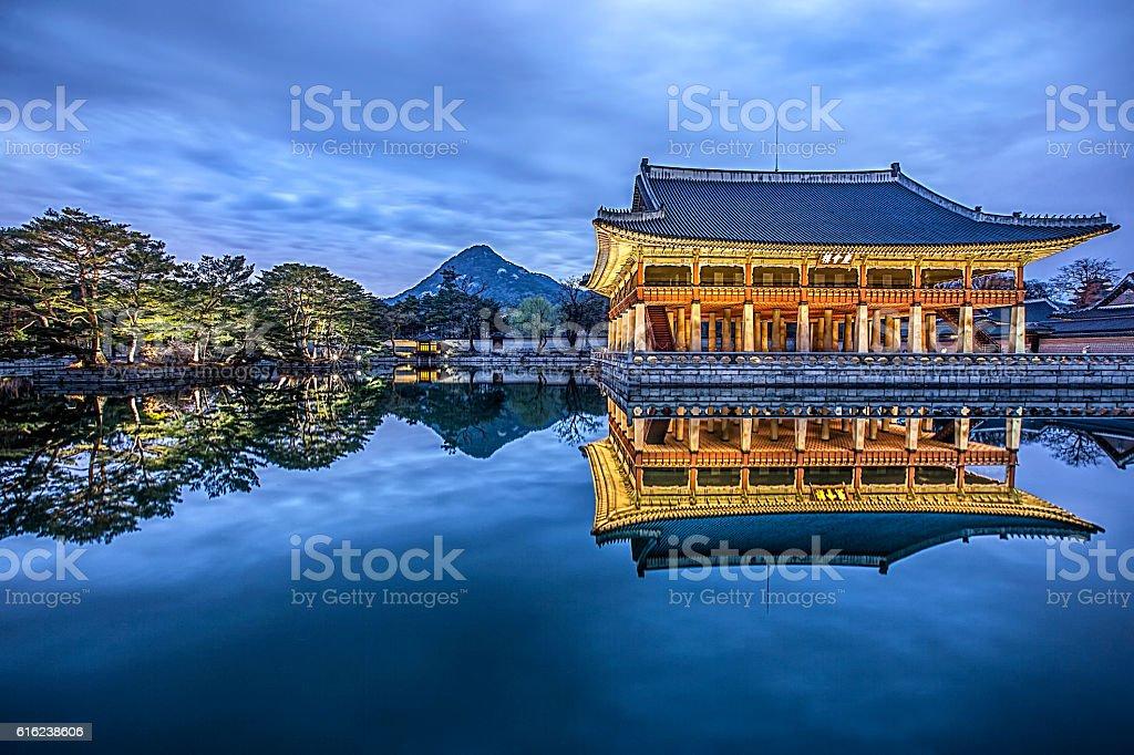 landmark of korea stock photo