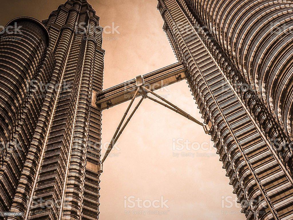 Landmark of Kuala Lumpur stock photo