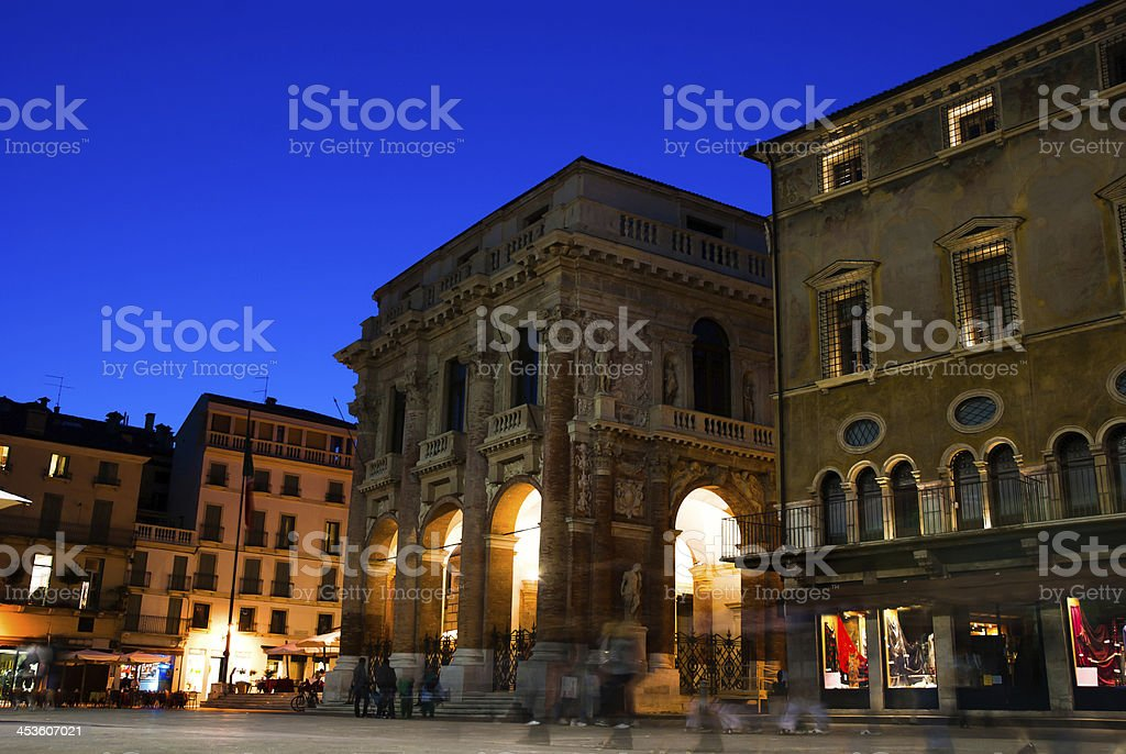 Landmark of Vicenza stock photo