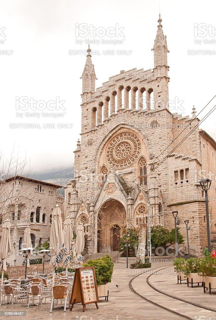 Landmark Sant Bartomeu stock photo
